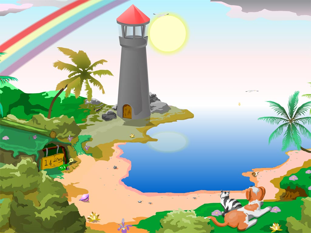 Lighthouse 3d Live Wallpaper Lighthouse Clock Screensaver Check The Current Time And