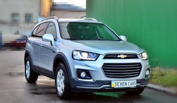 Chevrolet Captiva, АКПП, Diesel, 2017