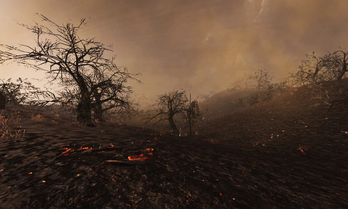Black Wallpaper Burnt Forest Official 7 Days To Die Wiki