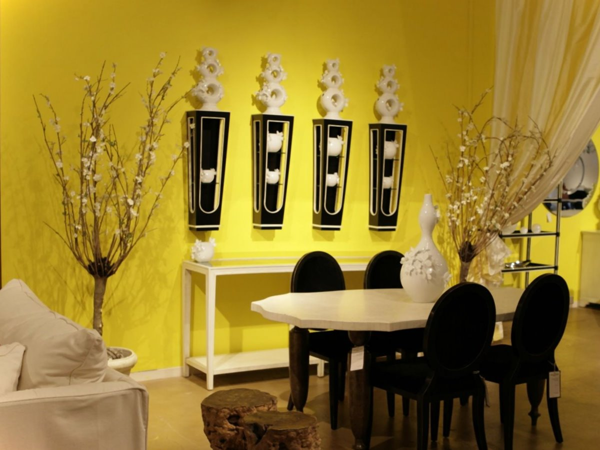 Yellow Dining Room Walls Best Paint Color Scheme For Minimalist Home Interior 4