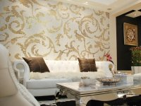Beautiful Living Room Wallpaper Decorating Ideas
