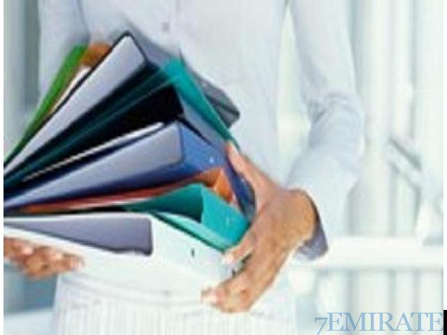 We are urgently looking for document controllerin Abu Dhabi Abu