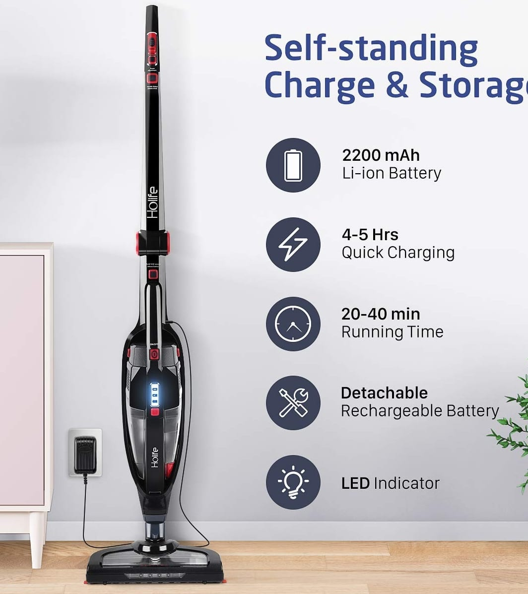 Sofa Vacuum Cleaner Brush Holife 2 In 1 Cordless Stick Vacuum Cleaner Upright And Handheld