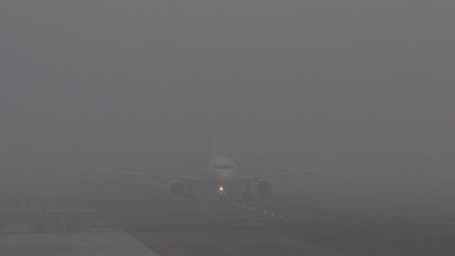 4 августа планы пилотов нарушил туман, окутавший весь город и его окрестности.