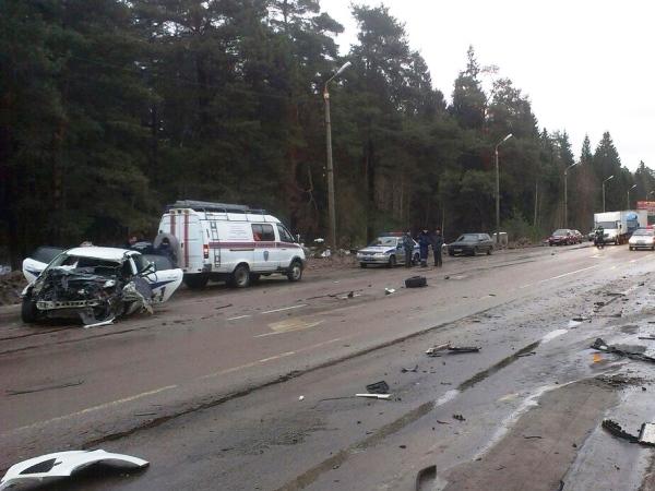 ДТП под Петербургом унесло жизни трех человек