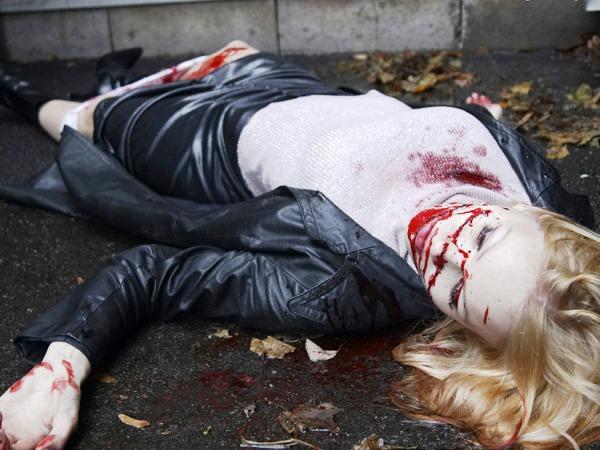 В Москве была жестоко убита молодая девушка