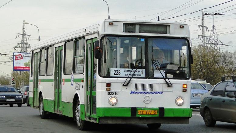 В Москве при участии пассажирского автобуса произошло ДТП. Есть пострадавшие