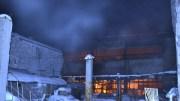 Барнауле произошел крупный пожар на складе аптеки