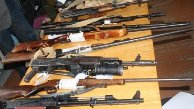 В северной Осетии накрыли контрабандистов, завозящих в Россию оружие