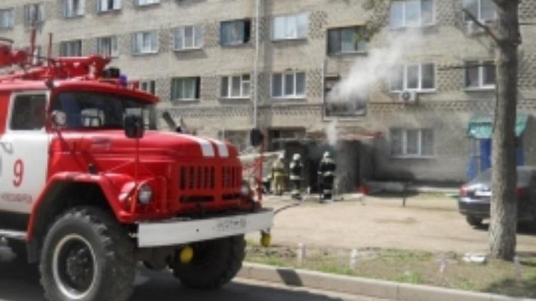В Новосибирске из-за пожара были эвакуированы 130 жильцов общежития