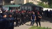 В Киеве на одной из автостоянок произошел конфликт, окончившийся взрывом