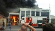 В Краснодаре произошел масштабный пожар на складе электроприборов