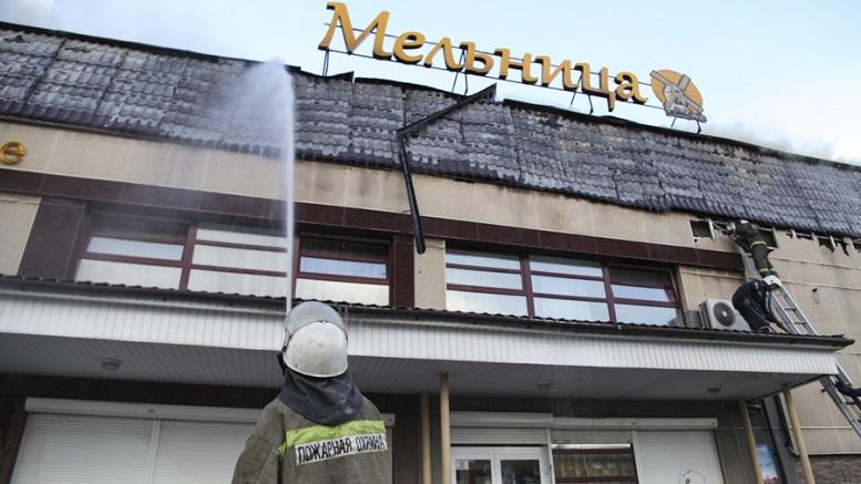 В Свердловской области во время свадьбы в кафе произошел пожар