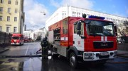 В Москве сотрудники МЧС спасли из горящего дома пятерых жильцов