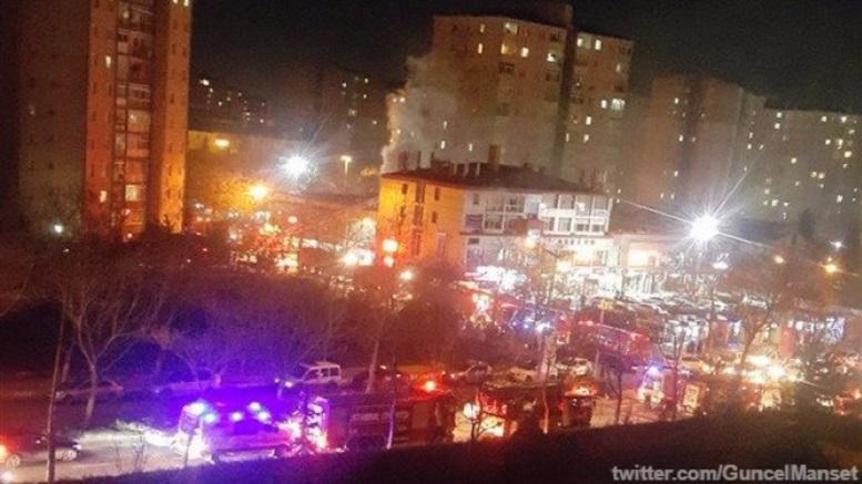 В Стамбуле прогремело два взрыва