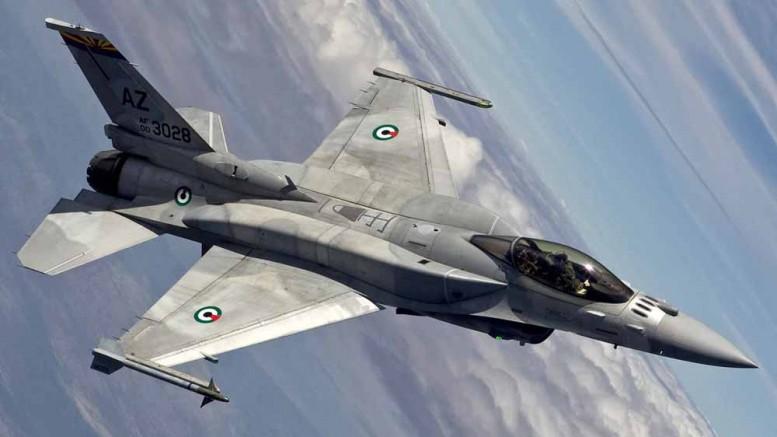 В Турции при заходе на посадку разбился истребитель F-16