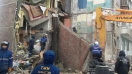 В Карагандинской области Казахстана из-за неисправного газового котла обрушилась часть многоэтажки
