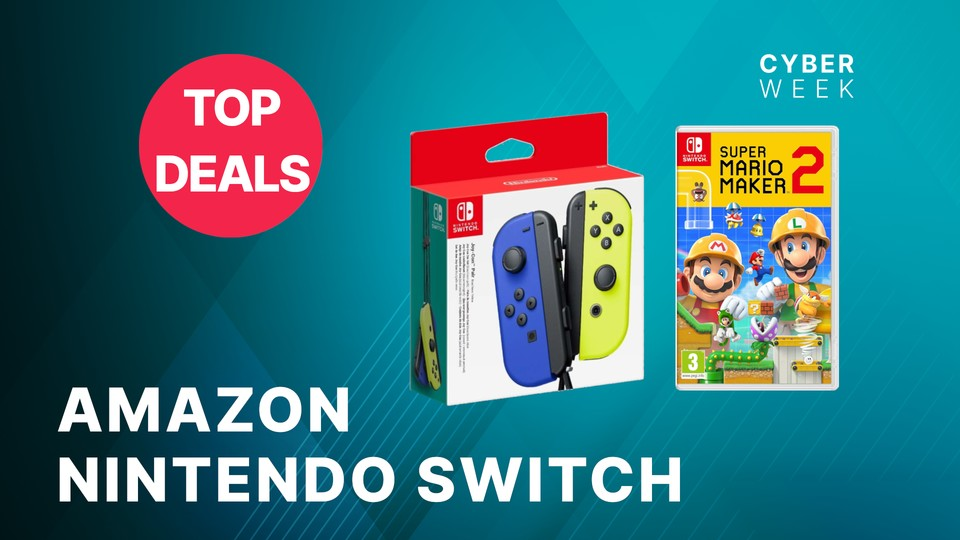 Black Friday Beste Angebote Amazon – Black Friday: Die Besten Angebote Für Nintendo Switch