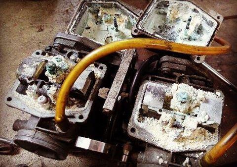 Need some work  carburator oldshool caferacer motorcycles honda 77hellip