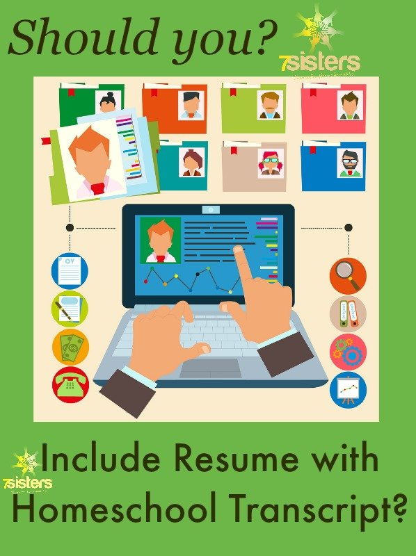 Should You Include Resume with Homeschool Transcript - what should be included in resume