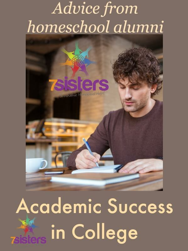 College success tips Archives - 7sistershomeschool - college success tips