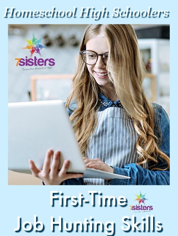 First-Time Job Hunting Skills for Homeschool High Schoolers