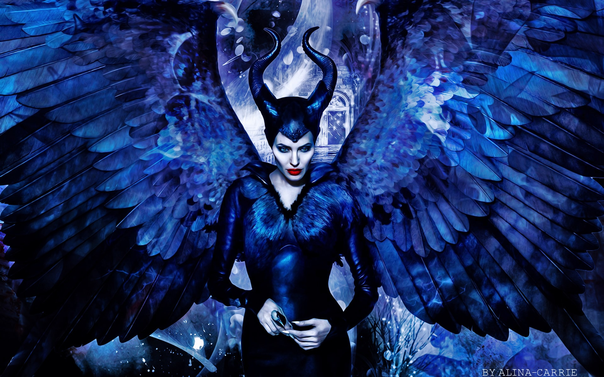 Once Upon A Time Wallpaper Iphone Maleficent Hd Wallpapers 7wallpapers Net