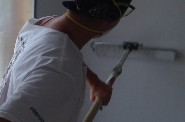 Drywall Spraying in Remodeling Projects