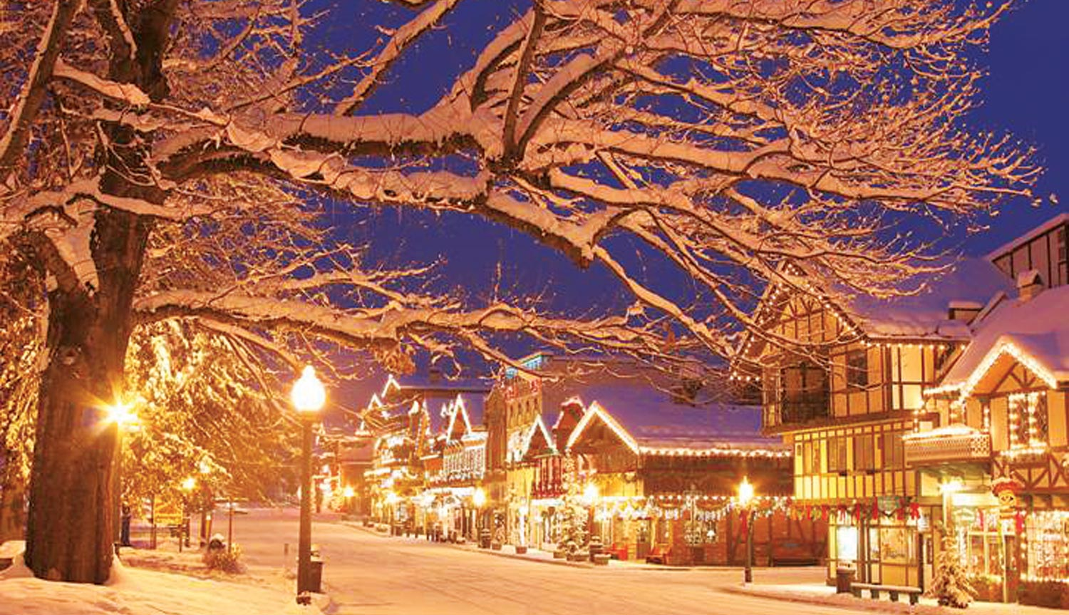 Ma Lighting Switzerland Leavenworth Christmas Lighting Festival Day Trip From