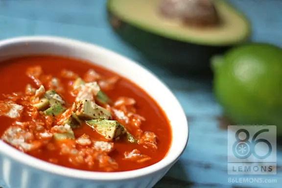 Tortilla Soup (vegan, gf)