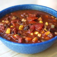 Fat-Melting Veggie Chili (vegan, gf)