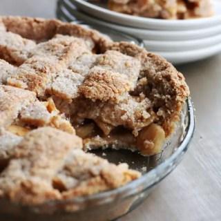 Dreena Burton's Vegan/GF Apple Pie - 86lemons.com
