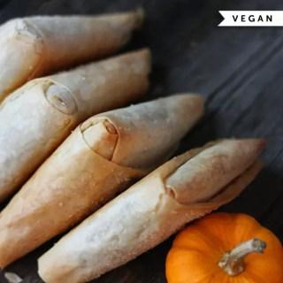 Vegan Pumpkin Spice Turnovers from Robin Asbell   86lemons.com