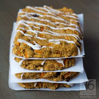 Vegan Carrot Cake Bars