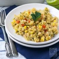 Corn Chowder Quinoa Casserole (vegan, gf)