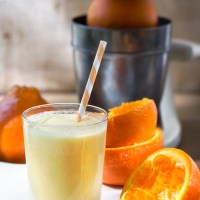 Orange Creamsicle Smoothie (vegan, gf)
