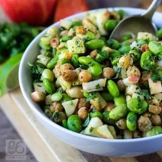 Vegan Edamame Power Salad  (gluten-free)