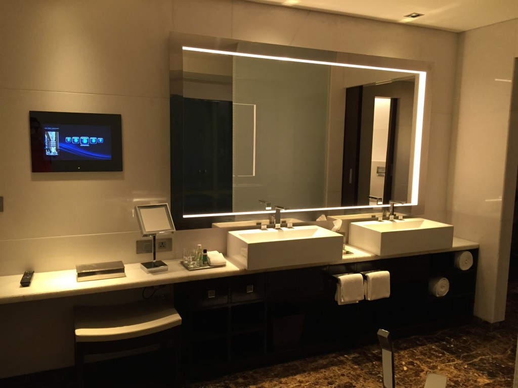 Bathroom Mirrors With Tv Built In Hotel Review Park Hyatt Hyderabad Hungry For Points