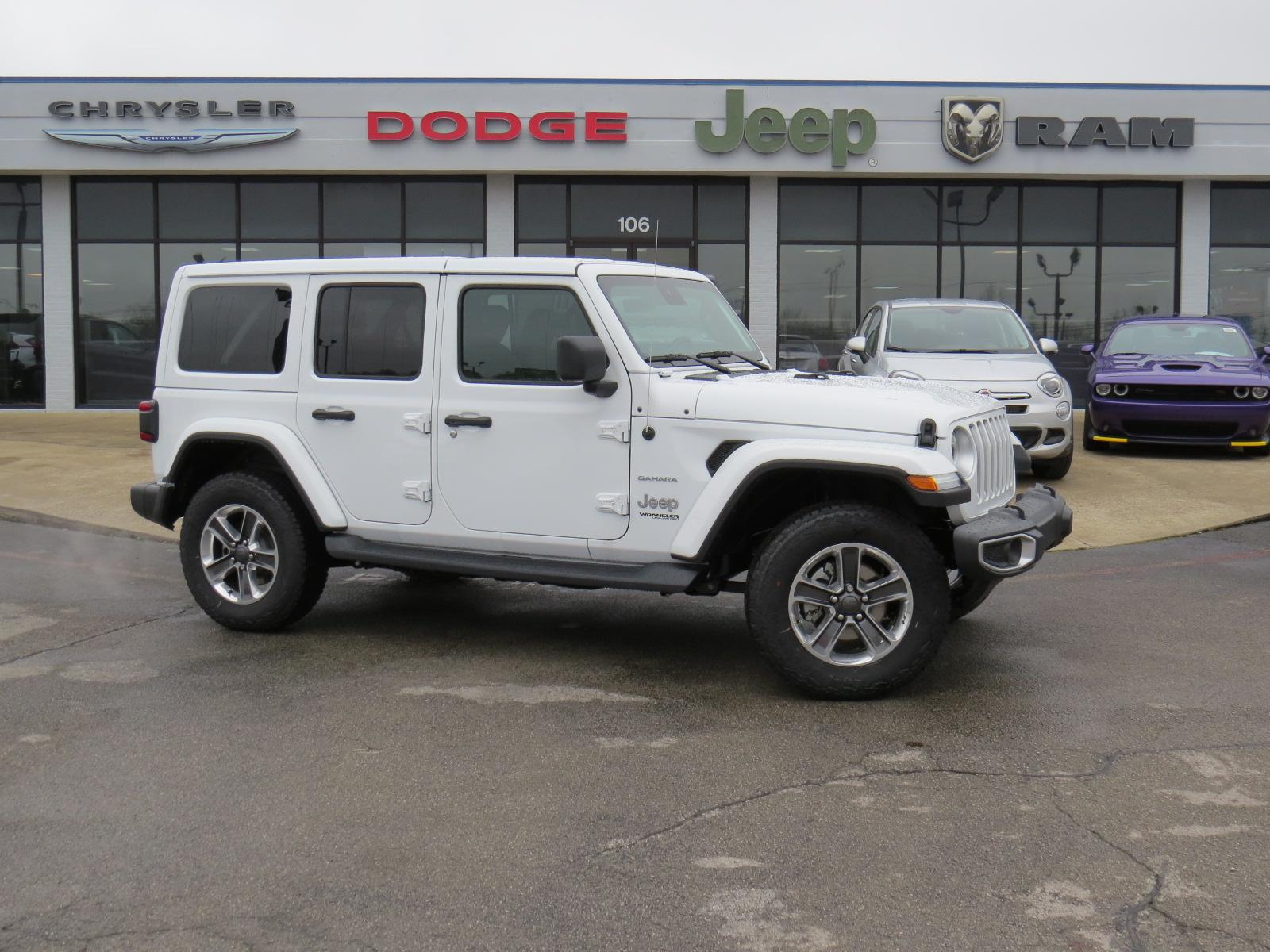 Sedia Bar Sport New 2019 Jeep Wrangler Unlimited Sahara 4x4