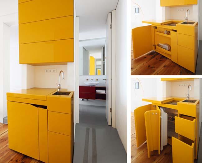 14 Wonderful Space Saving Small Kitchen Designs