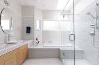 Before & After: Small bathroom design
