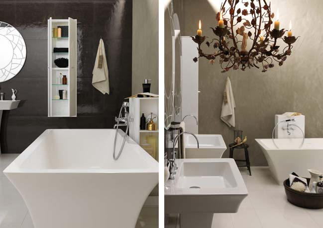 bathroom ideas by Regia - vintage bathroom ideas