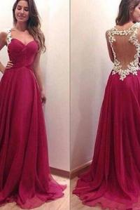 Dark Red Prom Dresses on Luulla