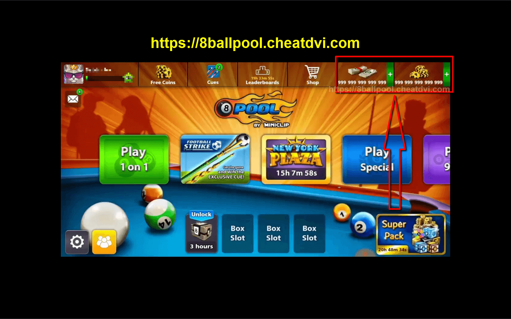 8 Ball Pool Cash Mod 8 Ball Pool Hack Get Unlimited Cash And Coins Video