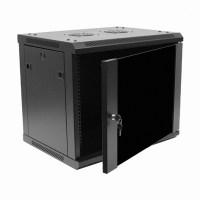 9U IT Wall Mount Network Server Data Cabinet Rack Glass ...