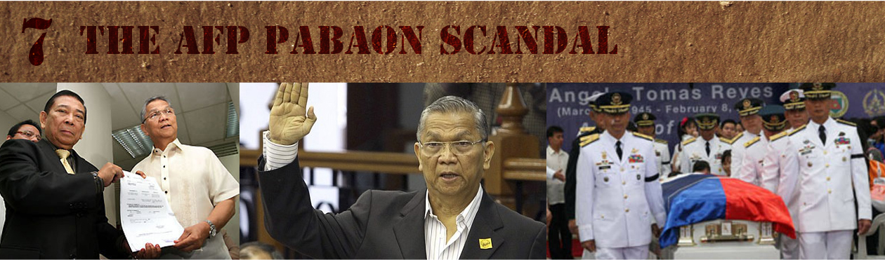 7. The AFP Pabaon Scandal