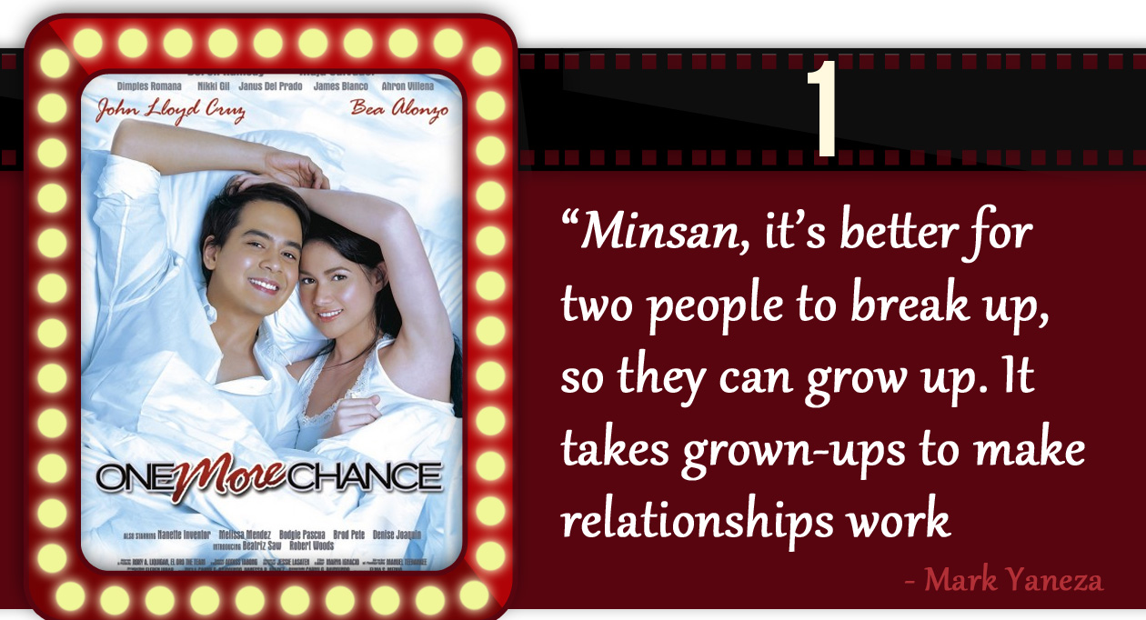 Top Filipino Pinoy Romantic Movies: One More Chance