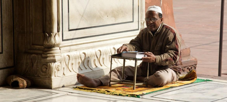 Moslem in Neu Delhi – religiöse Konflikte nehmen in Indien zu. Foto: David Bossart, CC BY-SA 2.0