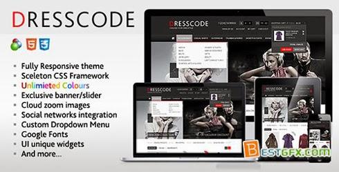 FreeDresscodeOscommerceResponsiveTheme