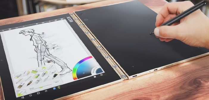 Lenovo Yoga Book - fot. mat. pras.